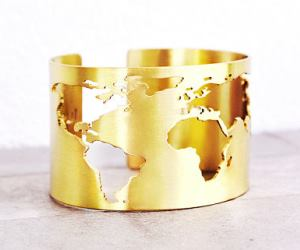 bracciali originali donna WORLD MAP