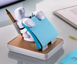 dispenser foglietti post-it originali karate