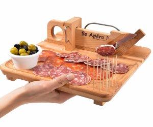 Utensili da cucina originali simpatici e divertenti - Ghigliottina affetta salame ...