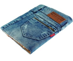 IDEE REGALO ORIGINALI CUSTODIA TABLET JEANS