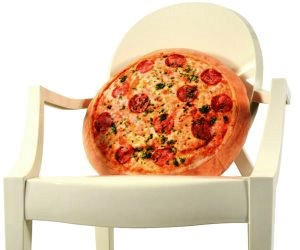 idee regalo originali per la casa cuscino pizza