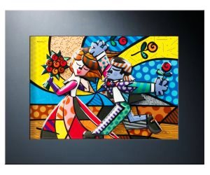 idee regalo originali per la casa quadro in rilievo romero britto