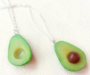 IDEE REGALO ORIGINALI SET 2 COLLANE AVOCADO