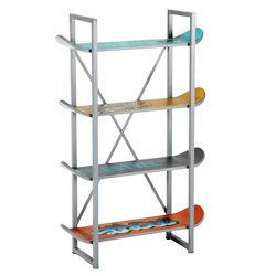scaffale skateboards regali originali