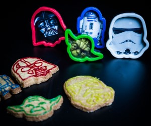 SET 4 STAMPI PER BISCOTTI STAR WARS
