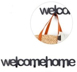 idee regalo originali appendiabiti welcome home