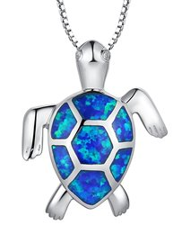 idee regalo originali collana blue turtle