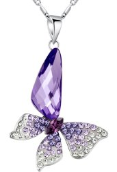 idee regalo originali collana butterfly