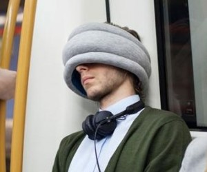 CUSCINO DA VIAGGIO OSTRICH PILLOW