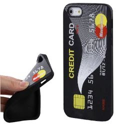 idee regalo originali cover iphone 5 carta di credito