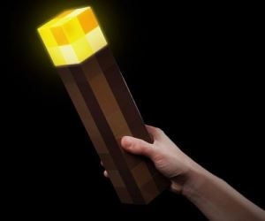 idee regalo originali torcia minecraft