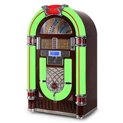 idee regalo originali per la casa radio am fm lettore cd jukebox
