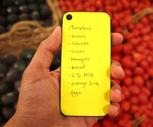 idee regalo originali post it per iphone