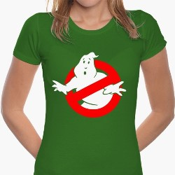 T-SHIRT DONNA ORIGINALE GHOSTBUSTER
