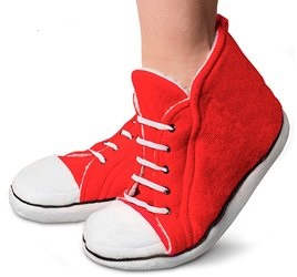 REGALI ORIGINALI TOP pantofole converse