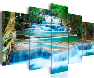 quadro originali waterfall