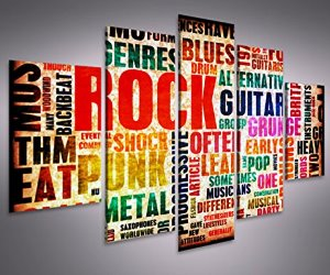 QUADRI ORIGINALI ROCK MUSIC