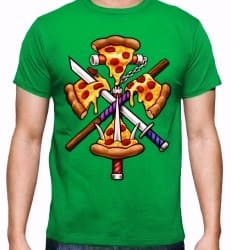 T-SHIRT PIZZA NINJA