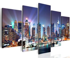 idee regalo originali quadro su tela new york