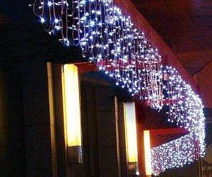 Decorazioni Luminose Per Interni : Tende luminose per esterno addobbi e regali di natale per lei lui