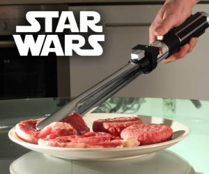 idee regalo originali pinze da barbecue star wars