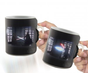 idee regalo originali tazza star wars spade luminose